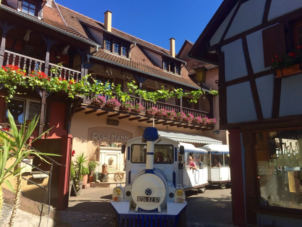 Le petit train du vigneron